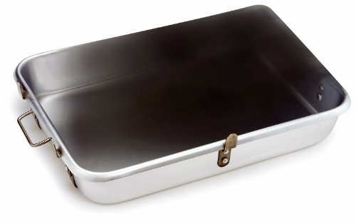 Crestware Strapped Roast Pan with Lugs 18 by 26 by 4-1/2-Inch