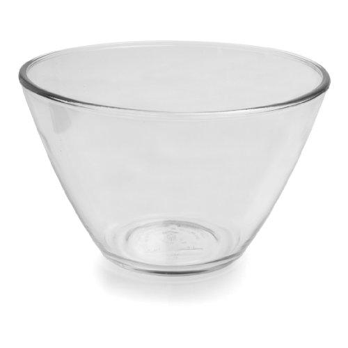 Anchor Hocking Splashproof Glass Mixing Bowls, 3 Quart (Set of 2)