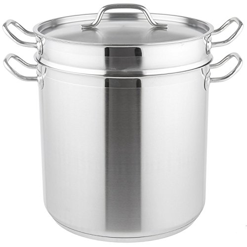 Royal Industries Pasta Cooker with Lid, 20 qt, 11.8