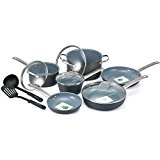 GreenLife Gourmet Healthy Ceramic Non-Stick Hard Anodized 12pc Cookware Set
