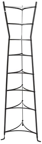 Enclume CWS8H HS 8-Tier Gourmet Hourglass Cookware Stand, Hammered Steel