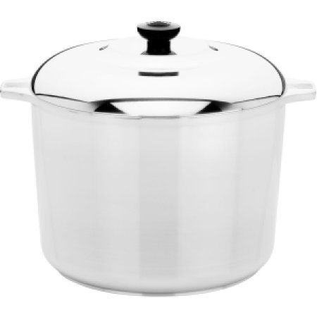 Magnalite Silver Cast Aluminum Stock Pot -10-Quart
