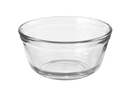 Anchor Hocking Glass Food Prep and Mixing Bowls, 1 Quart (Set of 6)