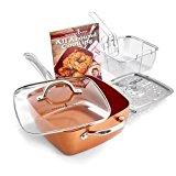 Copper Chef 5 Piece Cookware Set - 9.5