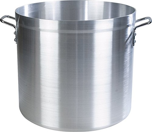 Carlisle 61260 Professional Standard Weight Aluminum Stock Pot, 60 Quart