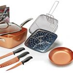 Copper Chef 9pc Pan Set