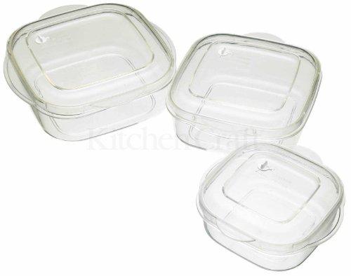 Microwave Casserole Three Piece Set