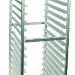 Crestware 20-Tier Aluminum Bun Pan Rack, 26-Inch by 20-Inch by 69-Inch