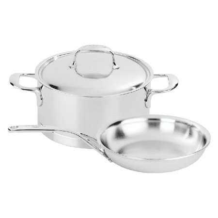 Demeyere Atlantis 3-pc Stainless Steel Cookware Set