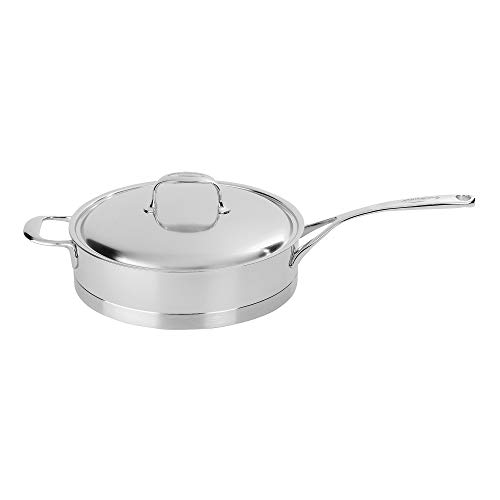 Demeyere Atlantis 2.6-Quart Sauté Pan with Lid