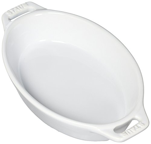 Staub 40508-599 Ceramics Oval Baking Dish 6.5-inch Basil