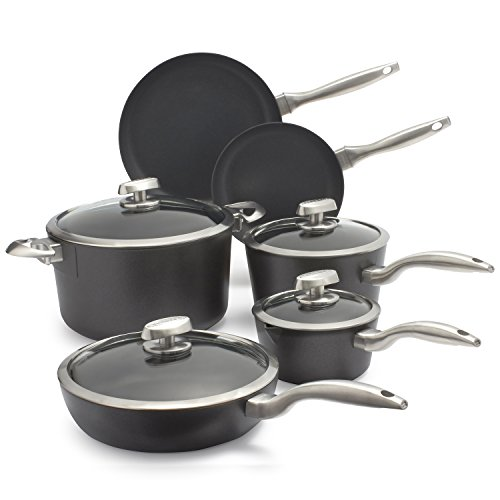 Scanpan Pro S5 10-Piece Cookware Set 63001000