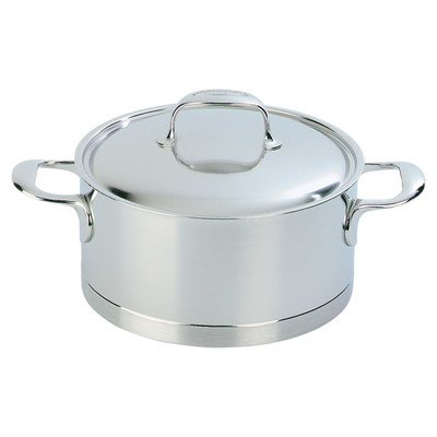 Demeyere Atlantis 1.6 Quart Casserole with Lid