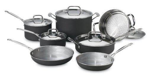 Cuisinart MCU-12 MultiClad Unlimited Dishwasher Safe 12-Piece Cookware Set