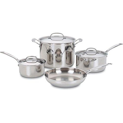 Cuisinart 7 Piece S/S Cookware Set