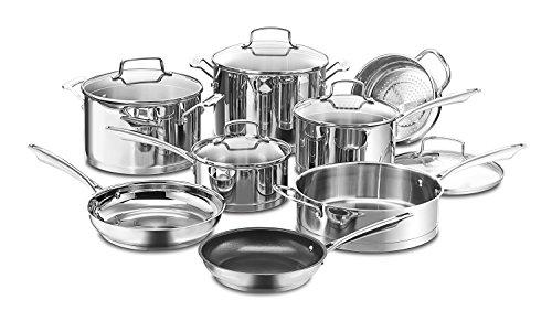 Cuisinart 89-13 13-Piece Professional Stainless Cookware Set