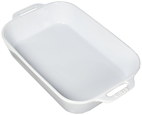 Staub 40508-597 Ceramics Rectangular Baking Dish, 13x9-inch, White