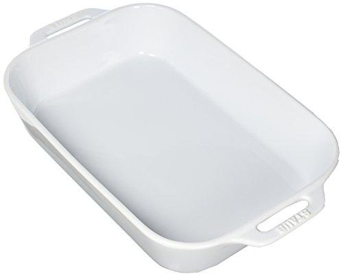 Staub 40508-597 Ceramics Rectangular Baking Dish, 13×9-inch, White