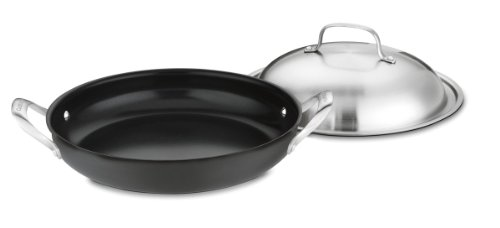 Cuisinart GG25-30D GreenGourmet Hard-Anodized Nonstick 12-Inch Everyday Pan with Cover