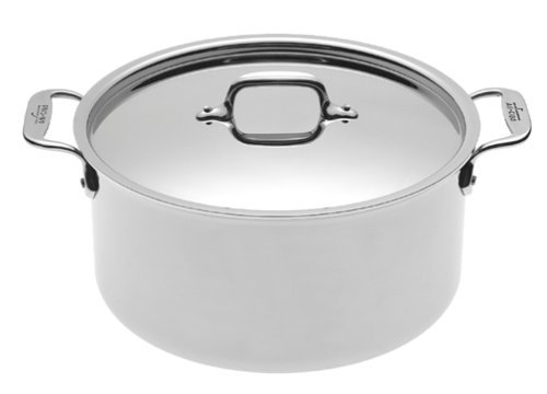 All-Clad 5508 Stainless Steel Stockpot Cookware, 8-Quart, Silver