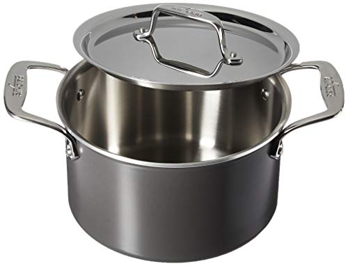 All-Clad 8701005445 LTD Cookware Soup pot, 4Qt, Black