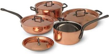 Bourgeat 8 Piece Cookware Set