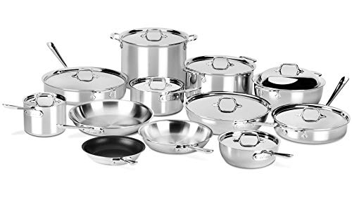 All-Clad 21 Piece Cookware Set