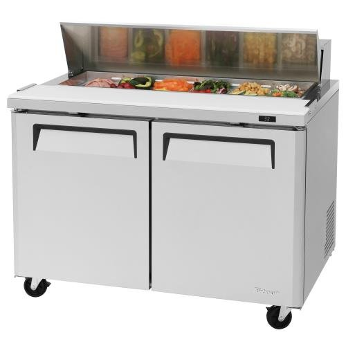 TURBO AIR 2DR SANDWICH SALAD PREP TABLE PIZZA MST-48