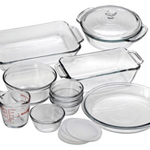 Anchor Hocking Oven Basics Glass Baking Dishes, Mixed, 15-piece