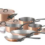 Mauviel 10-piece Copper Cookware Set