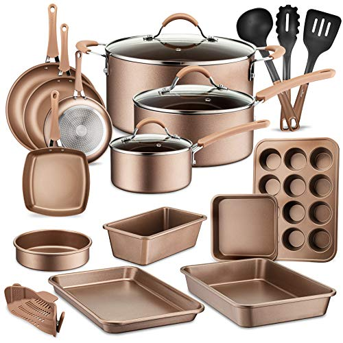 NutriChef Non-Stick Cookware Set